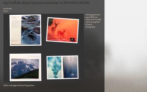 Mi portfolio en el libro NATURALEZA IBÉRICA 2012 (AEFONA)
